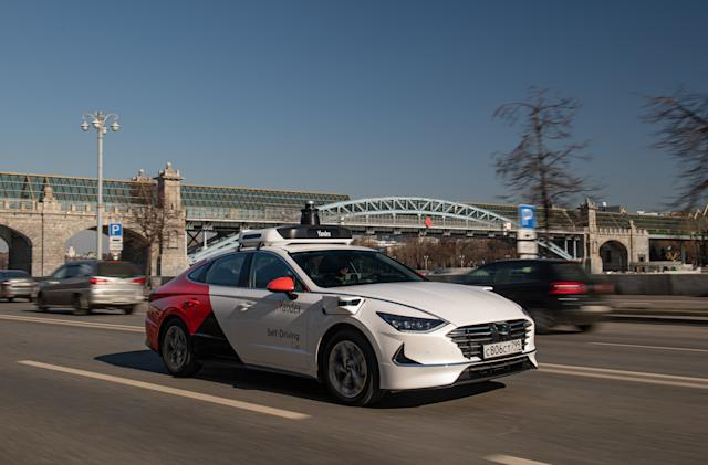 Yandex updates its self-driving tech on the 2020 Hyundai Sonata