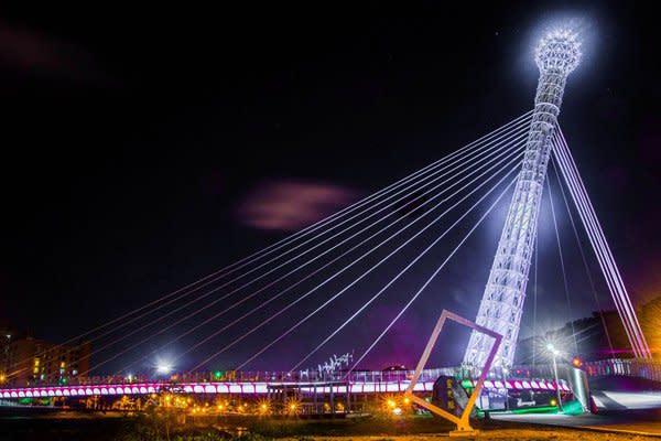汐止星光橋 (圖/新北市政府)
