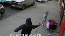 NYPD releases shocking footage of children nearly caught in crossfire