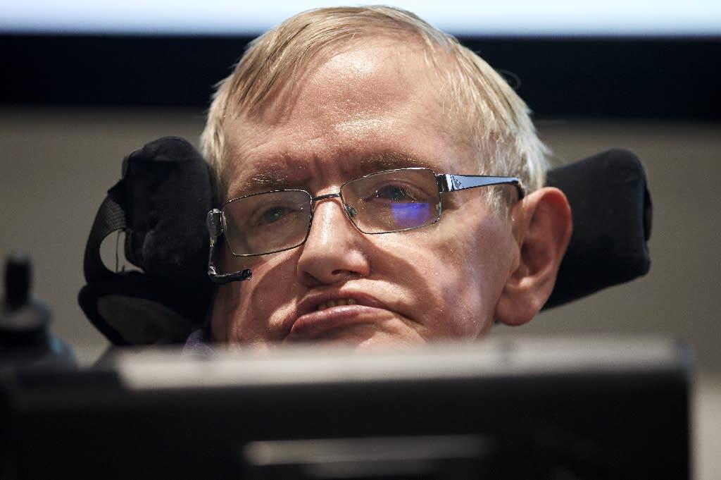 British scientist Stephen Hawking captured the imagination of millions around the world (AFP Photo/NIKLAS HALLE'N)
