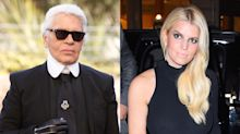 Jessica Simpson called out for joking about her 'diet goals' in Karl Lagerfeld tribute