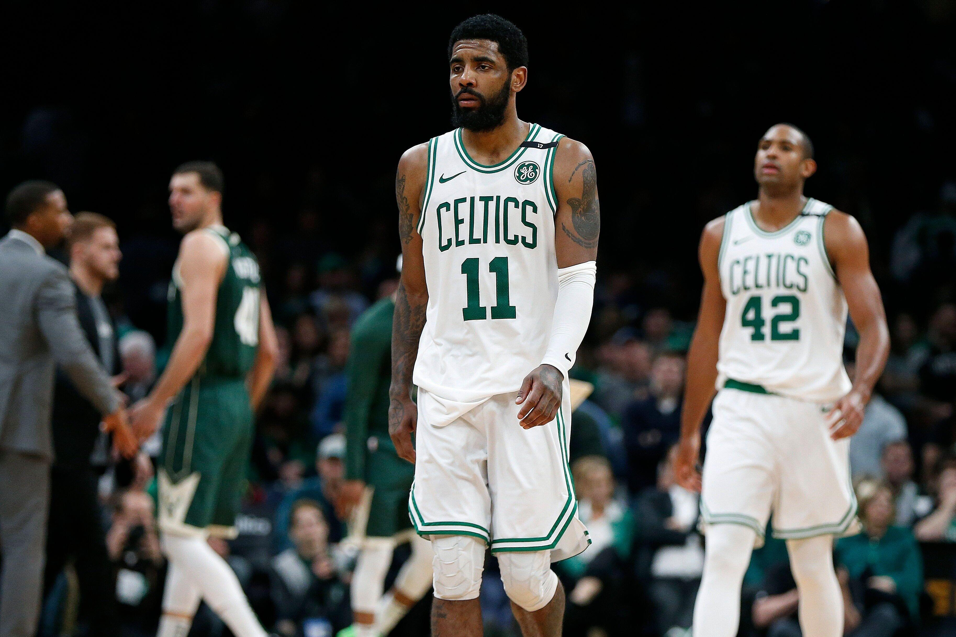 60500b7706fa Kyrie Irving left Cleveland looking for answers and found more questions in  Boston