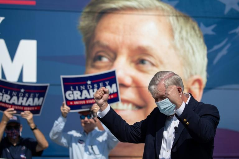 US Senator Lindsey Graham is in the fight of his political life in South Carolina