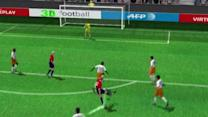 The Goal from Nolan Roux (Lille) in the 24th minute of the first half.