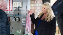 EastEnders' Sharon catches Phil with another woman