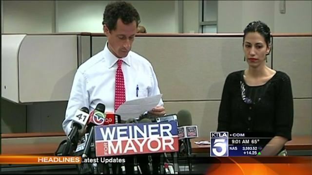Anthony Weiner Admits Involvement in Another Sexting Scandal