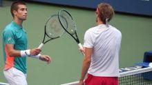Fired-up Zverev Downs Coric To Reach U.S. Open Semis