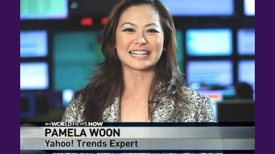 Yahoo! Trends With Pamela Woon 11/26/2010 ABC World News Now