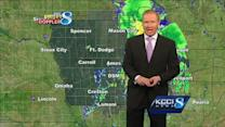 Video-Cast: Storms refire this afternoon