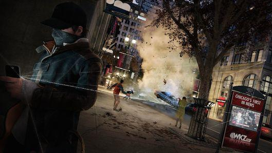 Take a trip across Chicago in Watch Dogs video