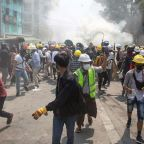 Myanmar authorities kill at least 38 peaceful protesters in bloodiest day since coup