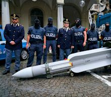 Italy seizes 'combat-ready' missile and automatic weapon stash in raids on far-Right figures