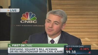 Ackman: Makes sense to be partners with Icahn instead of ...