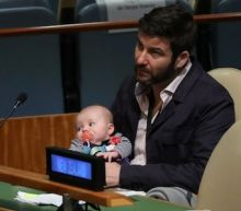 New Zealand's 'First Baby' Neve makes history with United Nations debut alongside Jacinda Ardern