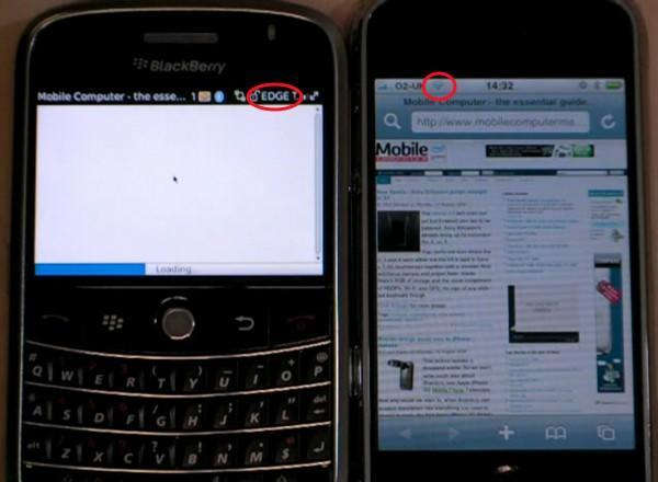 Debunk: BlackBerry Bold's browser on WiFi actually not that slow