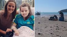 Girl, 12, loses her leg after being bitten by a shark on holiday