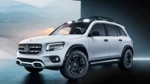 Mercedes Concept GLB brings a robust personality to the compact class