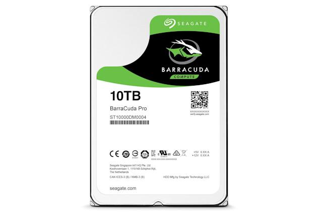 Seagate unveils a 10TB hard drive for your home PC