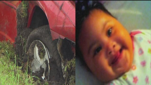 After crash kills mom, baby with family