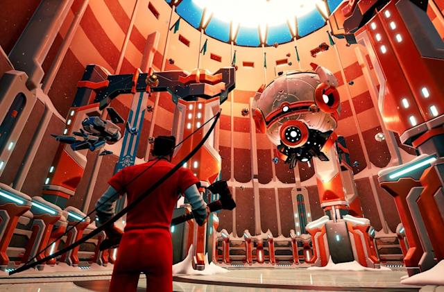 See battle royale brawler 'The Darwin Project' in action this weekend
