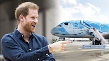 Prince Harry takes commercial flights to and from Japan for Rugby World Cup