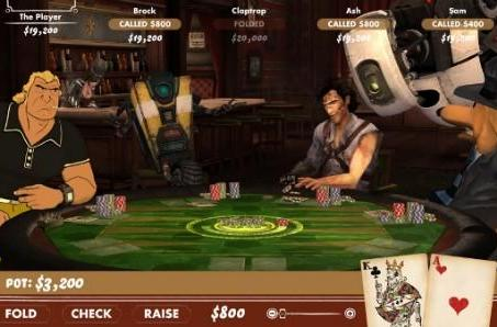 Poker Night at the Inventory 2 deals in GLaDOS, Claptrap, Ash Williams