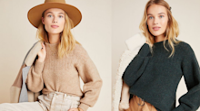 12 Deals of Christmas - Day 2: Take 30% off cozy knit sweaters at Anthropologie