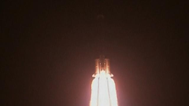 China launches rocket heading for the moon