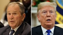 """George W. Bush Calls George Floyd's Death, Harassment A """"Shocking Failure"""" In Open Letter; Donald Trump Fires Back"""