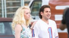 Jonah Hill Is Slimmer Than Ever Filming 'Maniac' With Emma Stone