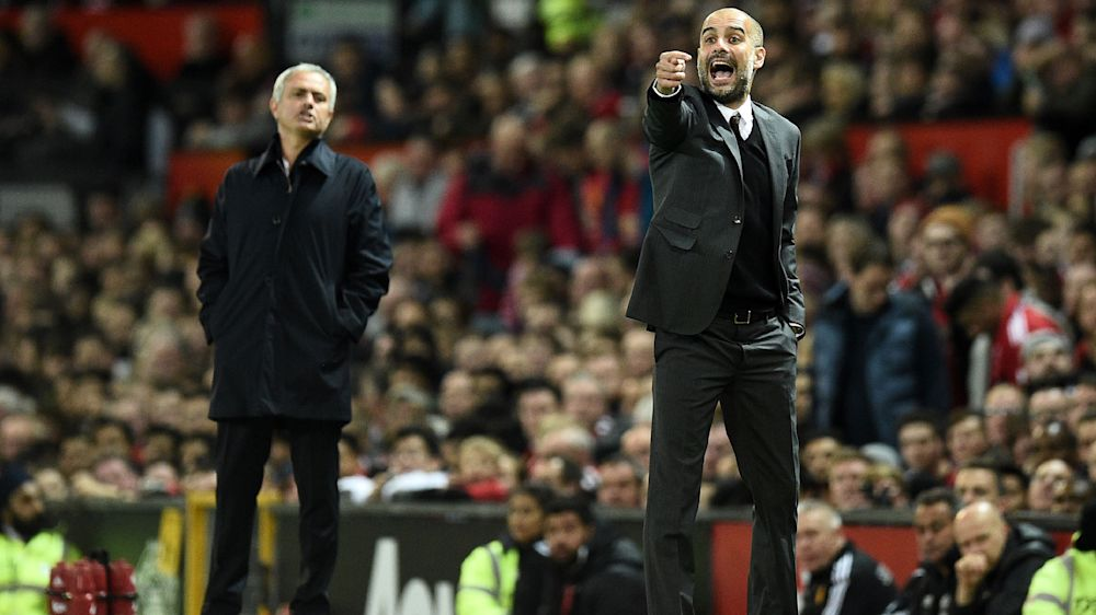 Manchester City-Manchester United : l'International Mourinho contre le dogmatique Guardiola