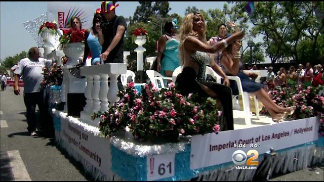 Hundreds Of Thousands Attend Pride Parade In West Hollywood