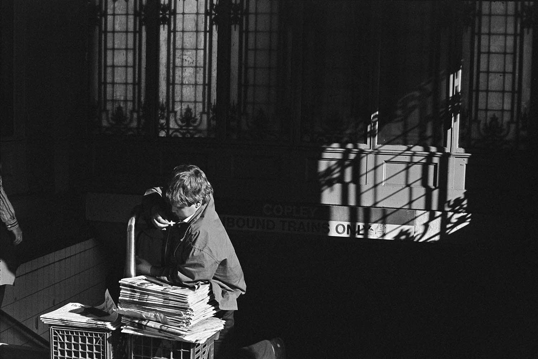 <p>Boy and cross, Boston, 1977. (© Richard Sandler/The Eyes of the City) </p>
