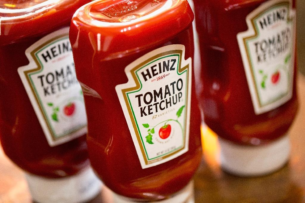 Heinz Tomato Ketchup is one of the iconic brands under the Kraft Heinz banner, but changing consumer tastes and a strict cost-cutting strategy have undercut the company's performance (AFP Photo/SCOTT OLSON)