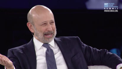 Blankfein: The risk is if things go a little too well