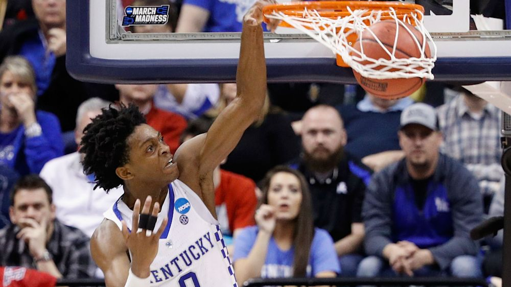 Kentucky vs. North Carolina: Luke Maye hits game-winning shot to send Tar Heels to Final Four