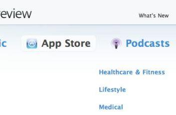 App Store categories get browser pages