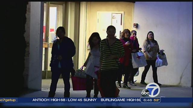 Black Friday shoppers keep stores busy