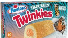 Attention cool cats and kittens: Tiger Tails Twinkies are making a comeback