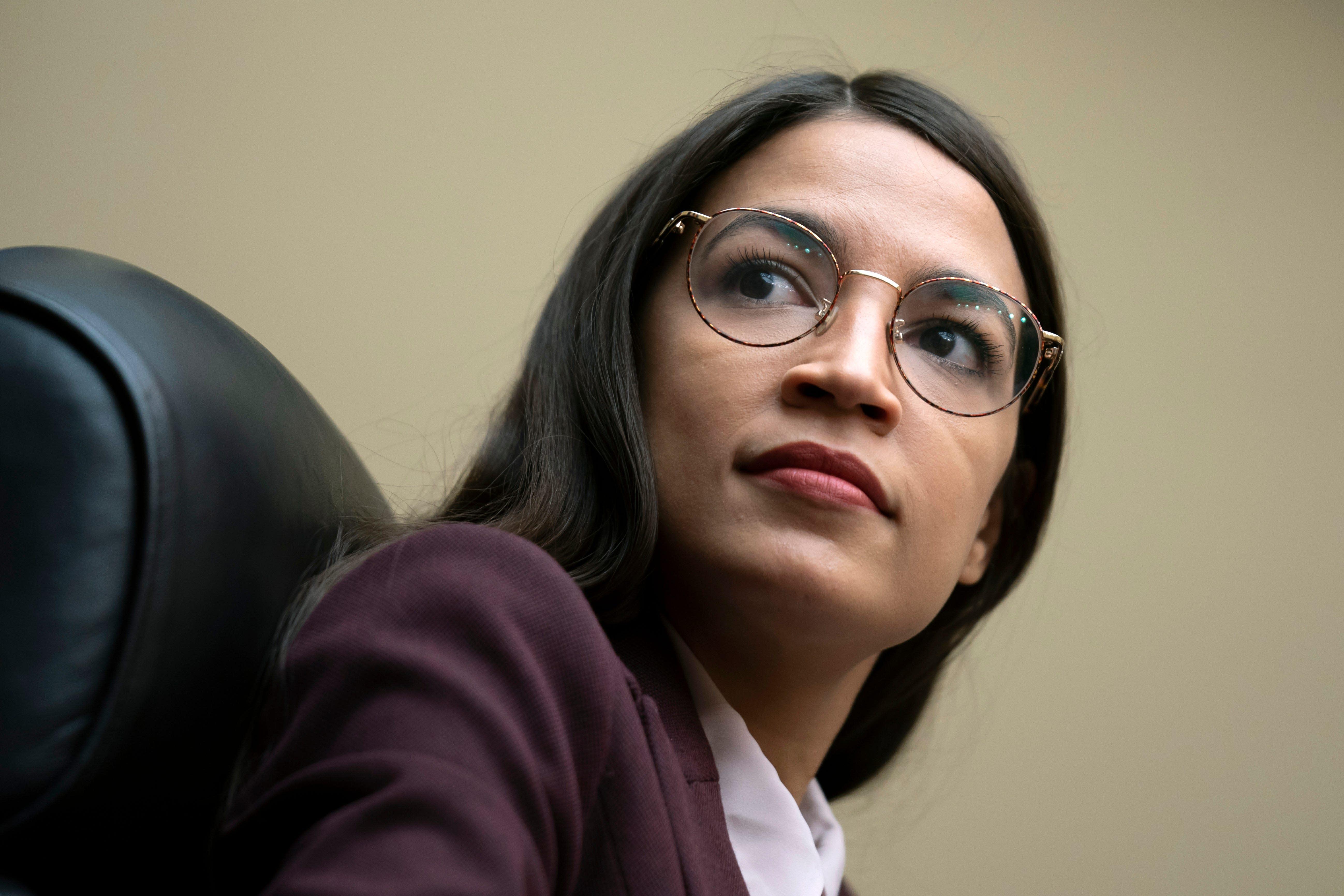 Alexandria Ocasio-Cortez says tweets by her ex-chief of staff were 'divisive'