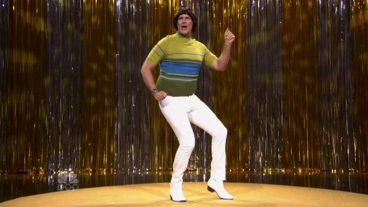 Will ferrell reprises his tight pants beef with jimmy fallon on the tonight show video - Will ferrell one man show ...
