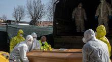 Coronavirus: con 681 muertos más, Italia superó el umbral de los 15.000 fallecidos