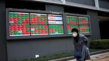 Asia stocks ease, dollar steadies after Fed-led losses