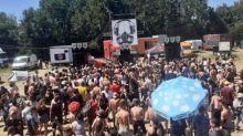 Nièvre : un teknival réunit plusieurs milliers de personnes à Saint-Parize-le-Châtel près de Nevers