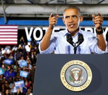 Obama turns focus to U.S. Congress as he campaigns for Clinton