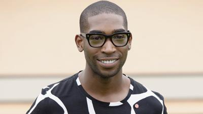 Tinie Tempah Sits Front Row at Burberry