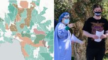 Urgent Covid alert for 25 suburbs after concerning find