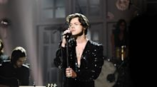 Harry Styles bares it all in upcoming album artwork, and fans are freaking out