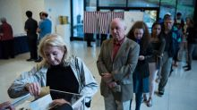 French line up abroad to vote in presidential cliffhanger