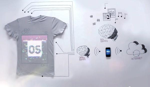 TshirtOS is web-connected, programmable, 100 percent cotton (video)